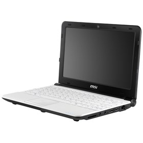 "Ноутбук MSI Wind U180-281 Atom N2600/1/500/WiFi/Win7St/10.1""/1.10 кг White"